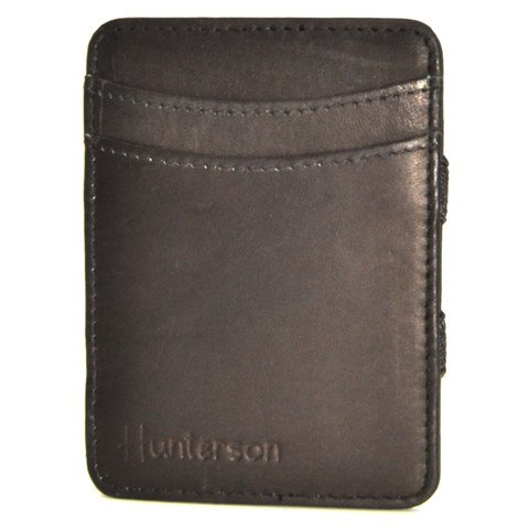 Hunterson Magic coin Wallet, schwarz