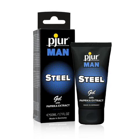 Pjur - Man Steel 50 ml (339€/1L)