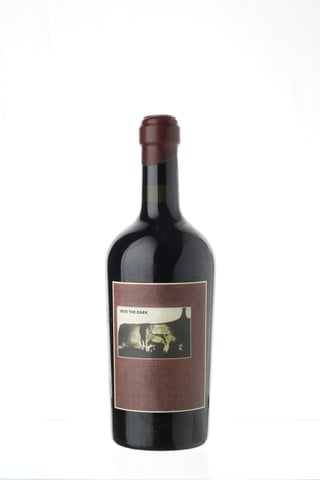 Bild vom Sine Qua Non in to the Dark 2004, Rotwein aus Kalifornien, Grenache Trauben