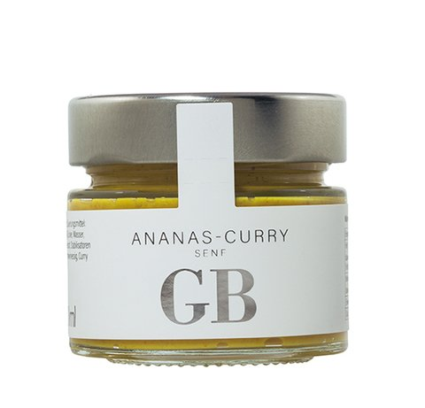Ananas-Curry Senf