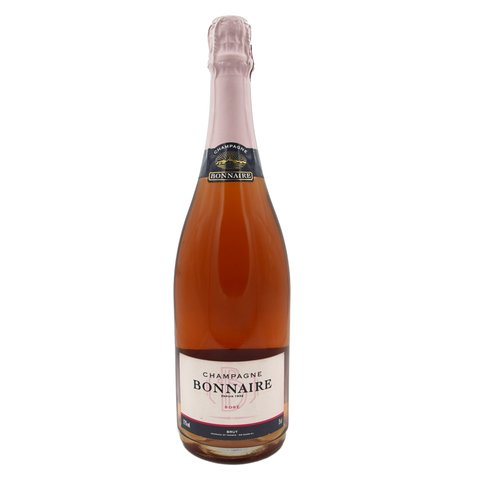 bonnaire, champagne, champagne rose