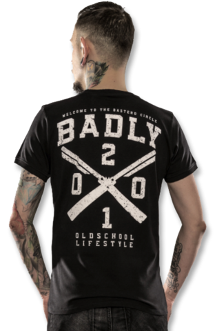 BADLY T-Shirt BASTERD CIRCLE-2