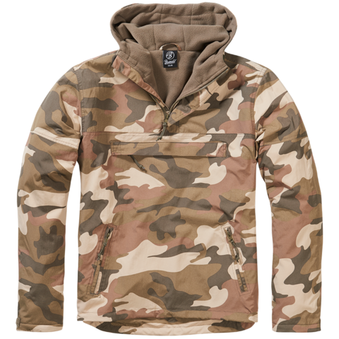Windbreaker Brandit light woodland