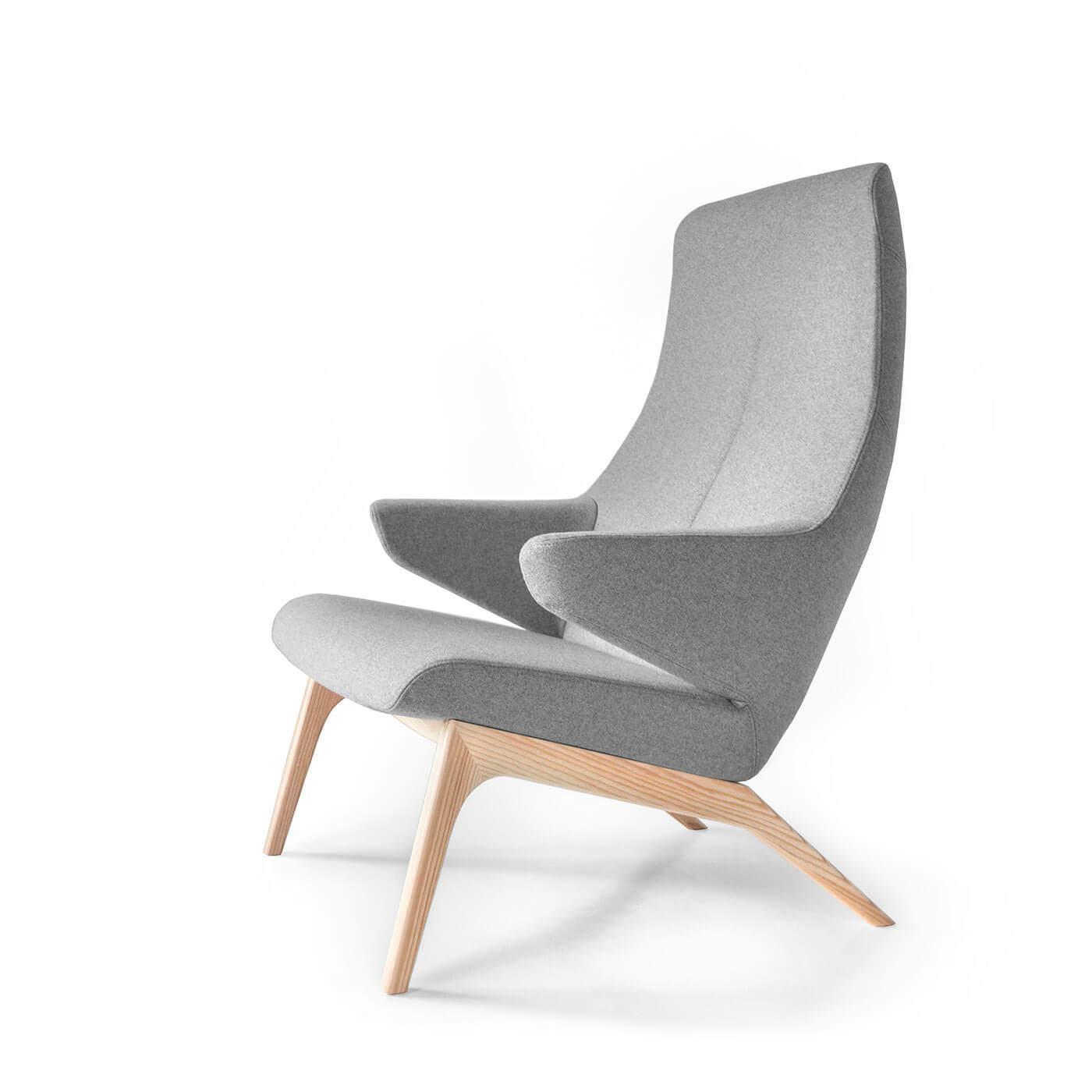 relaxsessel voog skandinavisches design. Black Bedroom Furniture Sets. Home Design Ideas