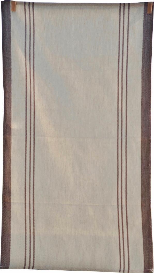 geschirrt cher maimu aus leinen mit braunen streifen. Black Bedroom Furniture Sets. Home Design Ideas
