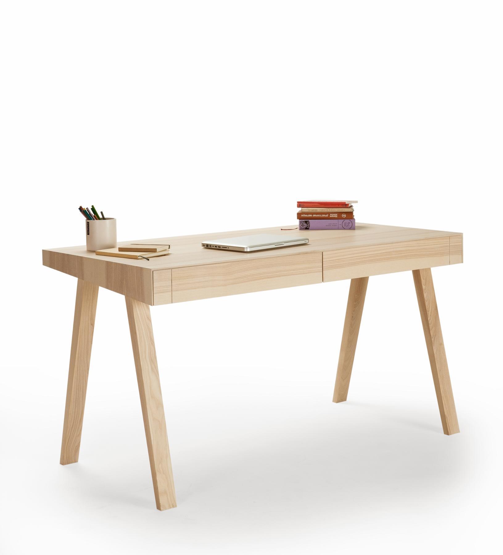 Schreibtische Design | Moderner Designer Schreibtisch 4 9 Aus Massivholz Emko