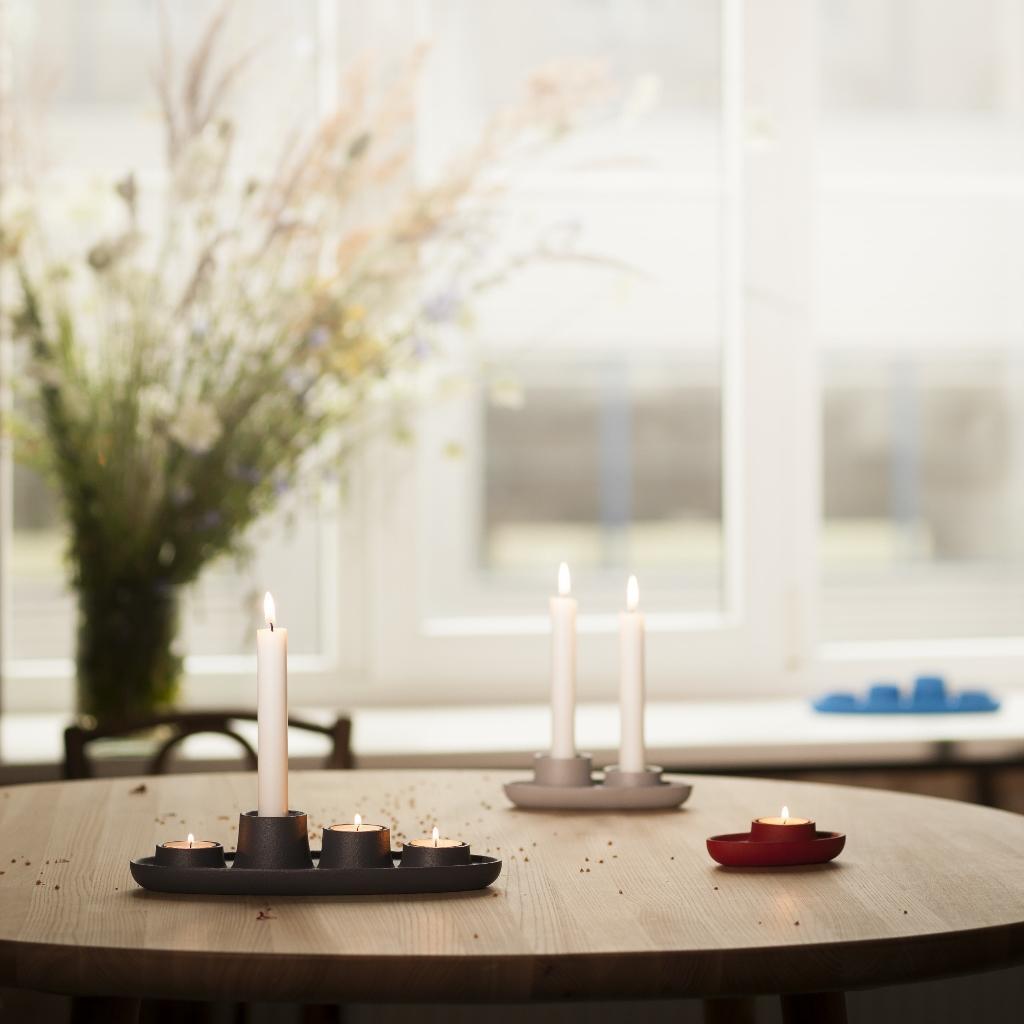 wohnzimmer verschiedene farben : Design Kerzenhalter Aus Metall Verschiedene Farben