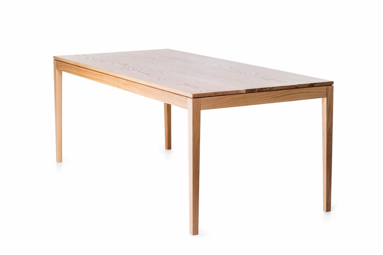 esstisch aus massivholz 160 cm hiis design. Black Bedroom Furniture Sets. Home Design Ideas