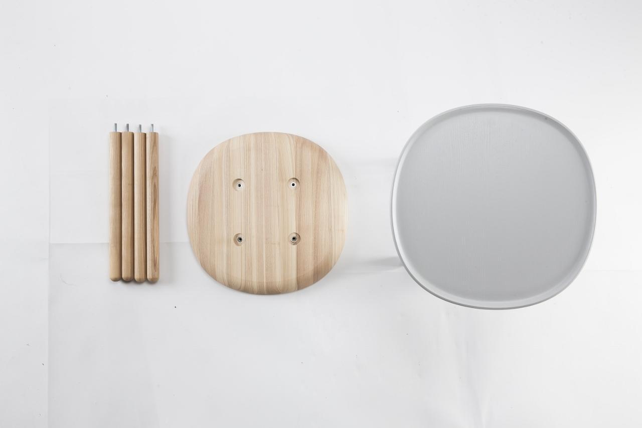 beistelltische set aus holz emko. Black Bedroom Furniture Sets. Home Design Ideas