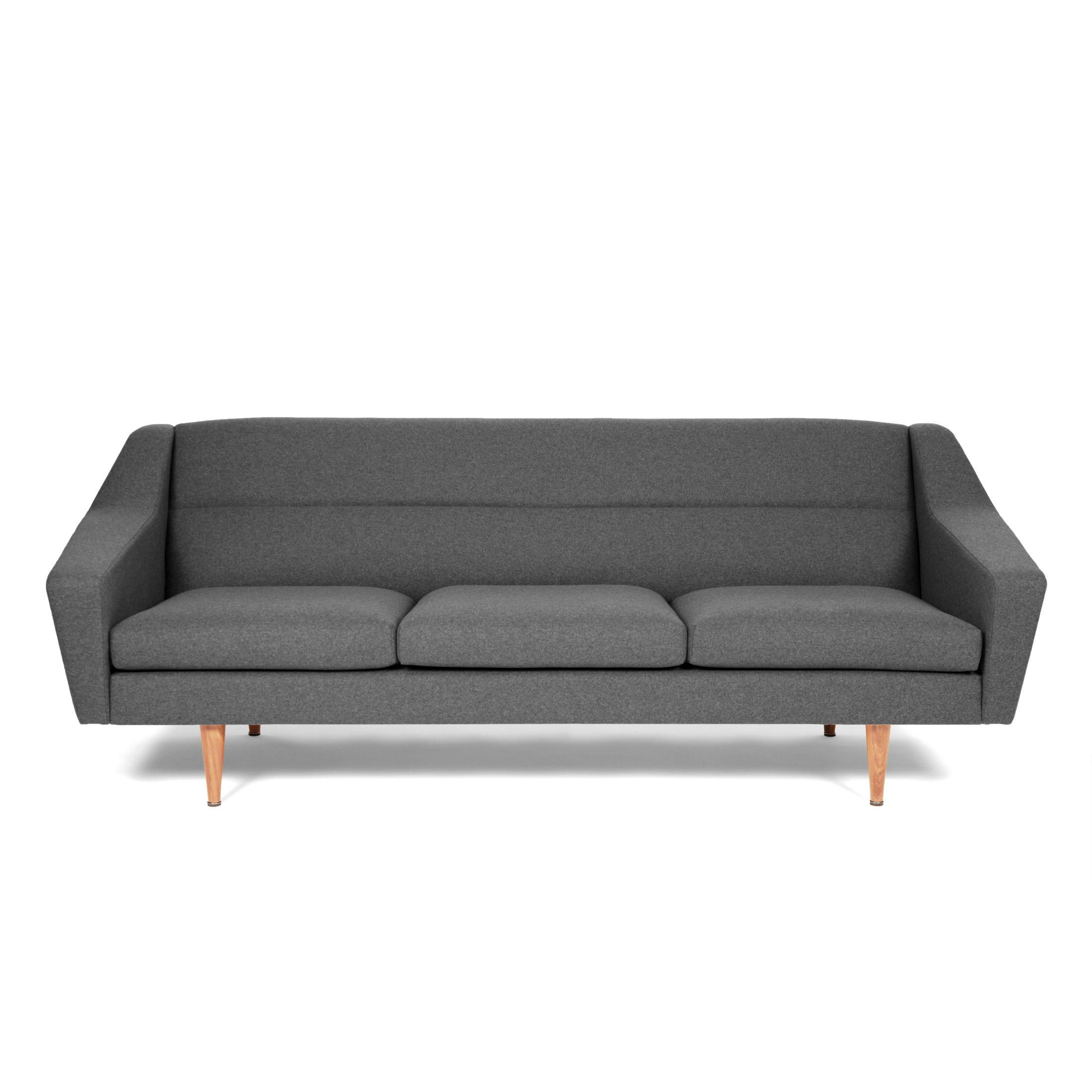3-Sitzer Sofa im Retro-Look