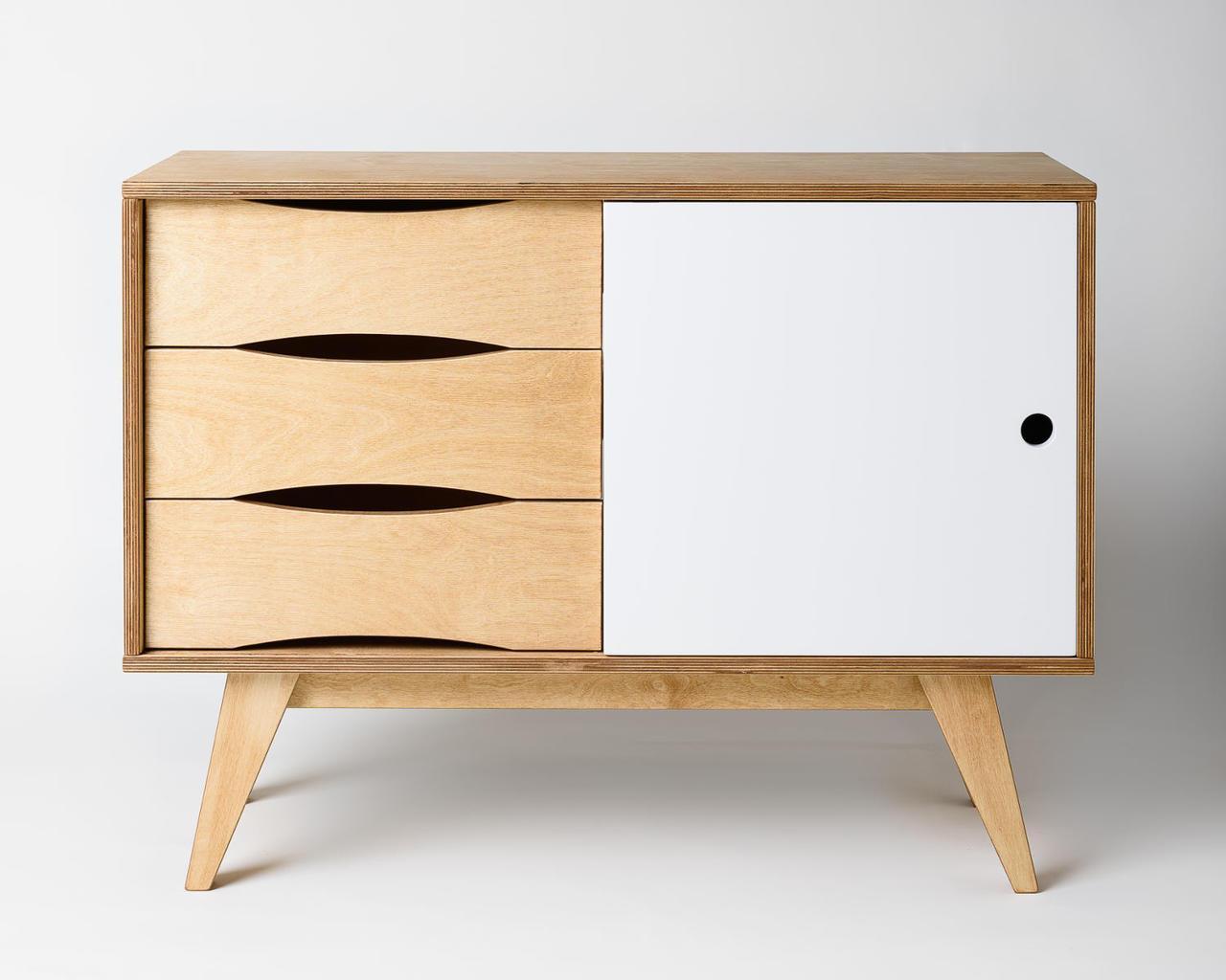 Kommode mit schiebetüren  Sideboard aus Holz mit Schiebetüren jetzt online kaufen!